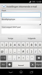 Sony Xperia E3 - E-mail - e-mail instellen: IMAP (aanbevolen) - Stap 10