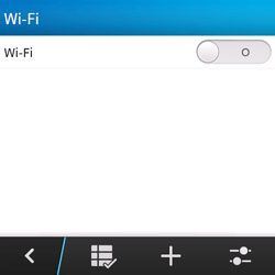 BlackBerry Q5 - WiFi en Bluetooth - Handmatig instellen - Stap 6