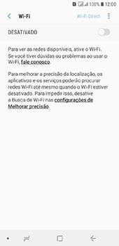 Samsung Galaxy J6 - Wi-Fi - Como configurar uma rede wi fi - Etapa 6
