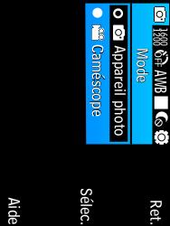 Samsung C3590 - Photos, vidéos, musique - Créer une vidéo - Étape 5
