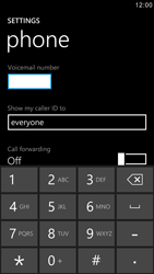 Samsung I8750 Ativ S - Voicemail - Manual configuration - Step 7
