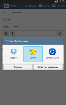Samsung T315 Galaxy Tab 3 8-0 LTE - E-mail - envoyer un e-mail - Étape 12