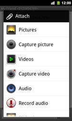 Google Nexus S - Mms - Sending a picture message - Step 6