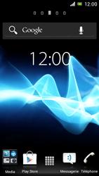 Sony ST26i Xperia J - Bluetooth - connexion Bluetooth - Étape 1