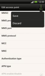 HTC C525u One SV - MMS - Manual configuration - Step 14