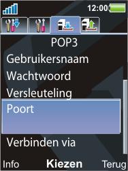 Sony Ericsson C903 - E-mail - Handmatig instellen - Stap 17
