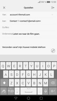 Huawei P9 Plus - E-mail - e-mail versturen - Stap 8