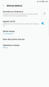 Samsung Samsung G928 Galaxy S6 Edge + (Android N) - Réseau - Changer mode réseau - Étape 8