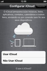 Apple iPhone iOS 5 - Primeiros passos - Como ativar seu aparelho - Etapa 22