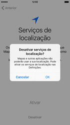 Apple iPhone 6 iOS 9 - Primeiros passos - Como ligar o telemóvel pela primeira vez -  12