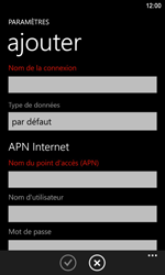 Nokia Lumia 920 LTE - Internet - Configuration manuelle - Étape 10