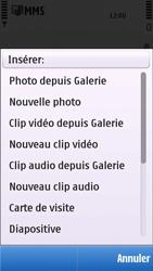 Nokia C5-03 - MMS - envoi d'images - Étape 11