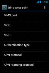Acer Liquid Z3 - Internet - Manual configuration - Step 15