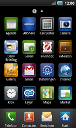 Samsung I5800 Galaxy Apollo - E-mail - handmatig instellen - Stap 3