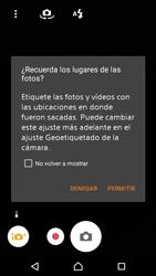 Sony Xperia M4 Aqua - Funciones básicas - Uso de la camára - Paso 4