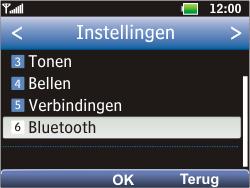 LG C360 Golf - Bluetooth - headset, carkit verbinding - Stap 4