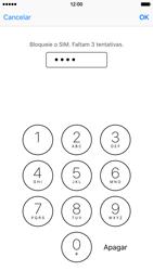 Apple iPhone 6s - Segurança - Como ativar o código PIN do cartão de telemóvel -  7