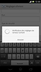 Sony C1905 Xperia M - E-mail - Configuration manuelle - Étape 15