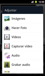 Samsung I8160 Galaxy Ace II - Mensajería - Escribir y enviar un mensaje multimedia - Paso 12