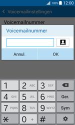 Samsung J100H Galaxy J1 - Voicemail - Handmatig instellen - Stap 9