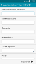 Samsung G850F Galaxy Alpha - E-mail - Configurar correo electrónico - Paso 8