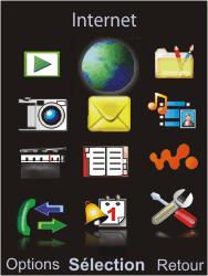 Sony Ericsson W595 - Internet - Navigation sur internet - Étape 2