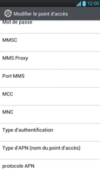 LG P880 Optimus 4X HD - MMS - Configuration manuelle - Étape 12