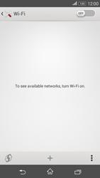 Sony E2003 Xperia E4 G - WiFi and Bluetooth - Manual configuration - Step 5