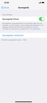 Apple iPhone XR - Données - créer une sauvegarde avec votre compte - Étape 14