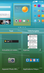 Alcatel OT-5050X Pop S3 - Applications - Personnaliser l