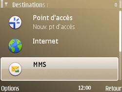 Nokia E72 - MMS - Configuration manuelle - Étape 7