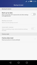 Huawei Y6 - Device - Reset to factory settings - Step 5