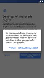Nokia 5 - Primeiros passos - Como ligar o telemóvel pela primeira vez -  10