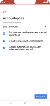 Wiko View 2 Plus - E-mail - e-mail instellen (outlook) - Stap 10