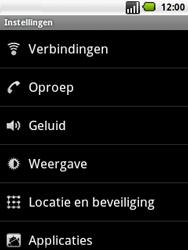LG P350 Optimus Me - Buitenland - Bellen, sms en internet - Stap 5