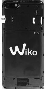 Wiko Harry 2 - Appareil - comment insérer une carte SIM - Étape 4