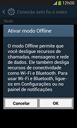 Samsung Galaxy Grand Neo - Rede móvel - Como ativar e desativar o modo avião no seu aparelho - Etapa 6