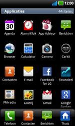 LG P970 Optimus Black - E-mail - Hoe te versturen - Stap 3