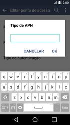 LG K4 - Internet no telemóvel - Configurar ligação à internet -  14