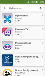 Samsung Galaxy J1 - Applications - MyProximus - Step 7