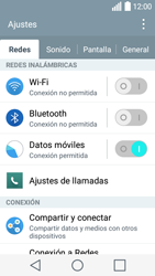 LG Leon - Bluetooth - Conectar dispositivos a través de Bluetooth - Paso 4