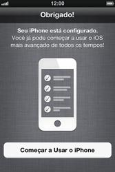 Apple iPhone iOS 5 - Primeiros passos - Como ativar seu aparelho - Etapa 25