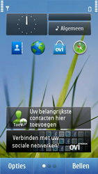 Nokia C6-01 - Internet - Handmatig instellen - Stap 1