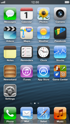 Apple iPhone 5 - Network - Manually select a network - Step 1