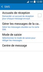 Samsung J100H Galaxy J1 - SMS - configuration manuelle - Étape 7