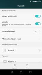 Huawei Ascend G7 - Bluetooth - connexion Bluetooth - Étape 10
