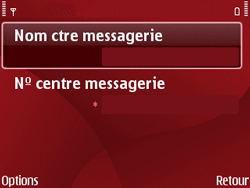 Nokia E63 - SMS - Configuration manuelle - Étape 9