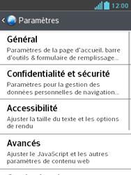 LG E430 Optimus L3 II - Internet - Configuration manuelle - Étape 22