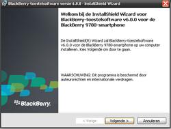 BlackBerry 9780 Bold - Software - installeer firmware update - Stap 9