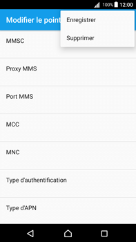 Sony Xperia Z5 Premium (E6853) - Android Nougat - MMS - Configuration manuelle - Étape 15